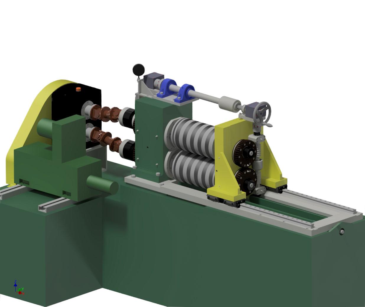 cisaille, cisaille rotative, ligne de parachèvement, sidérurgie