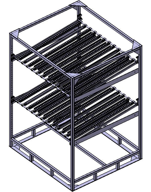 logistique, ergonomie, rack, rack dynamique