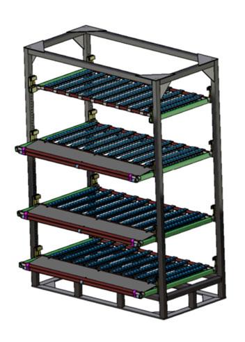 logistique, ergonomie, rack, rack dynamique, rack paramétré, rack dynamique paramétré