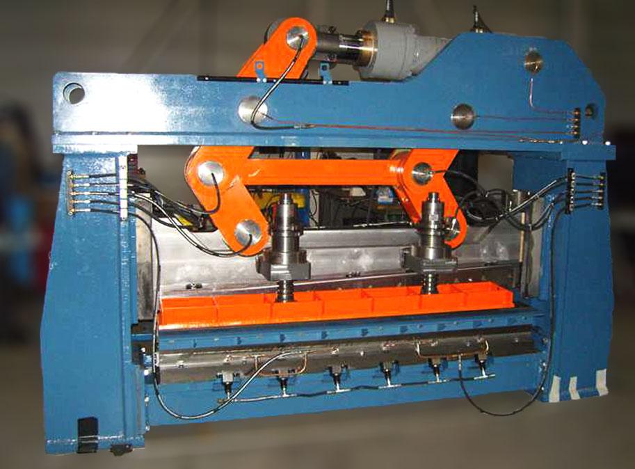 sidérurgie, ligne de parachèvement, cisaille, éboutage, cisaille forte capacité, cisaille éboutage forte capacité